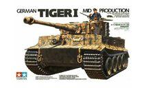 35194 TAMIYA Немецкий Тяжёлый танк Tiger I (Mid.prod) (1:35), сборные модели бронетехники, танков, бтт, scale35