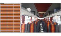 DKM0214 Набор декалей Декор для сидений Икарус (красный)(100х140), фототравление, декали, краски, материалы, scale43, Ikarus