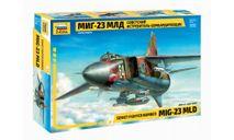 7218 Советский истребитель-бомбардировщик МиГ-23МЛД 1:72 ЗВЕЗДА, сборные модели авиации, scale72