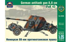 Немецкая 88-мм противотанковая пушка РаК 431:35 сборная модель ARK Models