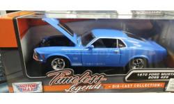 235917 1970 Ford Mustang BOSS 429 1/24 (Motor Max) синий