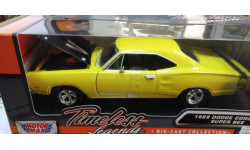235919 1969 Dodge Coronet super Bee 1/24 (Motor Max) желтый
