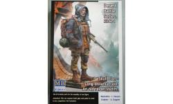 MB35213 Фигуры, «Постапокалиптика. Битва в пустыне. Клан Черепа - Дальний Рейд. Набор №1. Старый рейдер. Вад Master Box 1:35