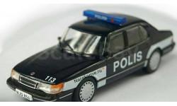 Полицейские машины мира №72 - SAAB 900