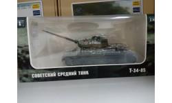 Танк Т34-85 1/43 Наши танки, масштабные модели бронетехники, Airbus, 1:43