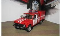 Автомобиль на Службе №23 ВИС-294611 Пожарный, журнальная серия Автомобиль на службе (DeAgostini), scale43, Автомобиль на службе, журнал от Deagostini