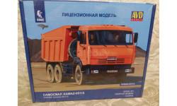 Сборная модель Камаз 65115 avd 1/43