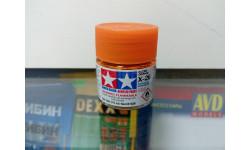 Краска для фонарей Tamiya X-26 clear orange, фототравление, декали, краски, материалы, scale0