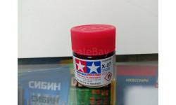 Краска для фонарей Tamiya X-27 clear red