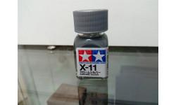 Краска для моделей Tamiya X-11 chrome silver, фототравление, декали, краски, материалы, scale0