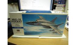 00434 МИГ-25 FOXBAT 1/72 (HASEGAWA), сборные модели авиации, scale0