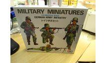 35002Т Немецкие пехотинцы 4 фигуры 1/35 TAMIYA, миниатюры, фигуры, scale35