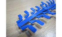 Зеркала эксклюзив, синий, цена за комплект (элекон), запчасти для масштабных моделей, scale43, КамАЗ