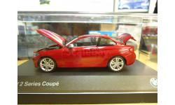 80422336870 BMW 2 Series Coupe красная 1:43