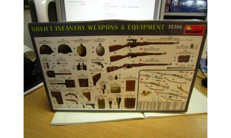 35304 soviet infantry weapons 1/35 MINIART, сборные модели артиллерии, scale0