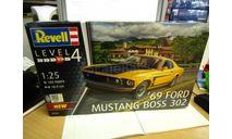 07025 69 ford mustang boss 302 1/25 REVELL, сборная модель автомобиля, scale24