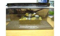 SVT09 M-10 601st tank Destroyer Battalion - 1944 спец. выпуск АНС, масштабные модели бронетехники, Автомобиль на службе, журнал от Deagostini, scale72