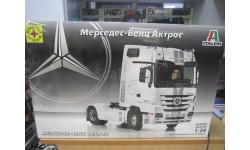 Сборная модель: мерседес-бенц АКТРОС 1:24 (моделист), сборная модель автомобиля, Mercedes-Benz