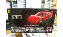 сборная модель F-40 №24295 1:24 'Tamiya', сборная модель автомобиля, scale0