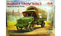 сборная модель: Standard B 'Liberty' 35651 1:35 (ICM), сборная модель автомобиля, scale0, Henschel