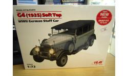 сборная модель: G4 1935 Soft top 72472 1:72 (ICM)