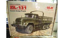 сборная модель: ЗИЛ-131 35515 1:35 (ICM), сборные модели бронетехники, танков, бтт