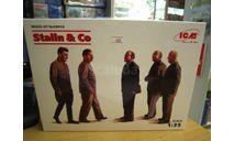 сборная модель: Stalin & Co 35613 1:35 (ICM), миниатюры, фигуры, scale35