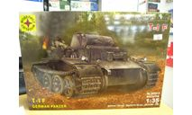 303518 немецкий танк T-I F 1:35 МОДЕЛИСТ, сборные модели бронетехники, танков, бтт