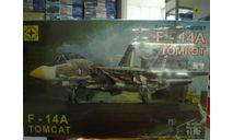 207204 палубный самолет F-14A ТОМКЭТ 1:72 МОДЕЛИСТ, сборные модели авиации, scale0
