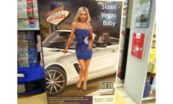 сборная модель: МВ24020 опасные изгибы. Слоан - детка Вегаса 1:24 МВ, миниатюры, фигуры, Master Box, scale0