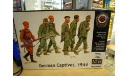 сборная модель: МВ3517 Немецкие пленники 1:35 МВ, миниатюры, фигуры, Master Box, scale0