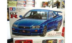 24210 Nissan skyline GT-RV 1/24 TAMIYA синий, сборная модель автомобиля, scale0