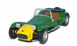 Суперкары №36 Lotus Seven, журнальная серия Суперкары (DeAgostini), Суперкары. Лучшие автомобили мира, журнал от DeAgostini, scale43