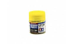 КРАСКА LP-69 Clear yellow (Желтая прозрачная) краска лаковая, 10 мл. Tamiya 82169, фототравление, декали, краски, материалы, scale0