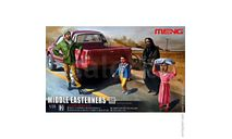 HS-001 фигуры Middle Easteners (1:35) Meng, миниатюры, фигуры, scale35