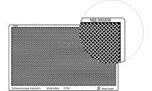 МД 000208 Профнастил (95х55 мм) тип 7, переплетение диагональ МИКРОДИЗАЙН, фототравление, декали, краски, материалы, scale8