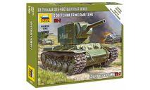 6202 Советский тяжелый танк КВ-2 Звезда 1:100, сборная модель (другое), scale100