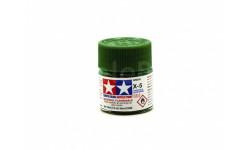 КРАСКА X-5 Green gloss, acrylic paint mini 10 ml. (Зелёный глянцевый) Tamiya 81505