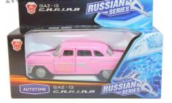 ГАЗ-13 Чайка свадьба, масштабная модель, 1:43, 1/43, Autotime Collection