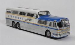 GM PD-4501 'GREYHOUND SCENICRUISER' USA, масштабная модель, 1:43, 1/43, IXO (Bus Collection for Hachette), GMC