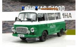 Barkas B1000 Полиция ФРГ ПММ № 63, журнальная серия Полицейские машины мира (DeAgostini), Полицейские машины мира, Deagostini, scale43