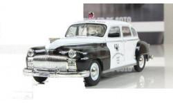 CHRYSLER De Soto Онтарио, США ПММ № 16, масштабная модель, 1:43, 1/43, Полицейские машины мира, Deagostini