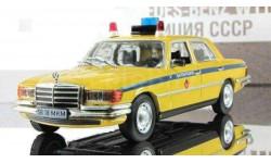 Mercedes-Benz W116 450 SEL Mилиция CCCP ПММ № 22, журнальная серия Полицейские машины мира (DeAgostini), 1:43, 1/43, Полицейские машины мира, Deagostini