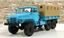 Урал-375Д бортовой с тентом, масштабная модель, Start Scale Models (SSM), 1:43, 1/43