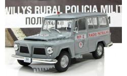 Willys Rural Wagon ПММ № 60, журнальная серия Полицейские машины мира (DeAgostini), 1:43, 1/43, Полицейские машины мира, Deagostini