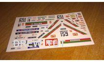 декаль нива №159  дакар 1981, фототравление, декали, краски, материалы, scale43