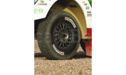 Декаль BFGoodrich маркировка колес ралли авто  1:43, фототравление, декали, краски, материалы, scale43