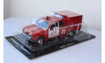 Автомобиль на Службе №23 - ВИС-294611 Пожарный, журнальная серия Автомобиль на службе (DeAgostini), scale43