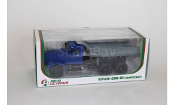 КрАЗ-256 Б1 самосвал, синий/серый