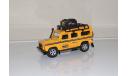 Land Rover Defender Экспедиция 1:31, масштабная модель, Техно-парк, 1:24, 1/24